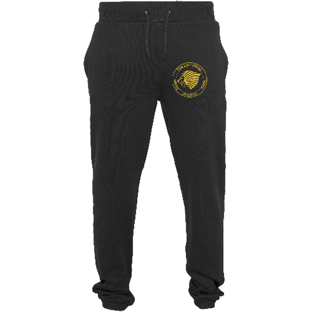 "Men - Apparel - Pants - Skinny Black / 2XL 34"" The Lion Head Heavy sweatpants fashion clothing accessories shoes jewelry"