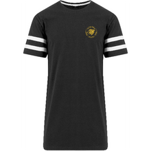 "Men - Apparel - Shirts - T-Shirts Black/White / 2XL 49"" The Lion Head Stripe Jersey tee fashion clothing accessories shoes jewelry"