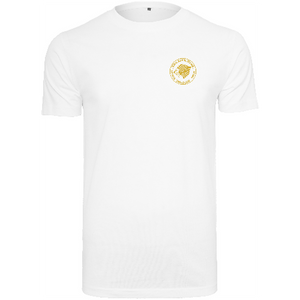 "Men - Apparel - Shirts - T-Shirts White / 2XL 46"" The Lion Head T-shirt round-neck fashion clothing accessories shoes jewelry"