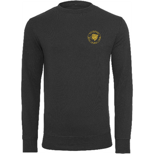 "Men - Apparel - Sweaters - Crew Neck Black / 2XL 48"" The Lion Head Light crew sweatshirt fashion clothing accessories shoes jewelry"