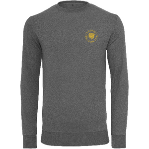 "Men - Apparel - Sweaters - Crew Neck Charcoal / 2XL 48"" The Lion Head Light crew sweatshirt fashion clothing accessories shoes jewelry"