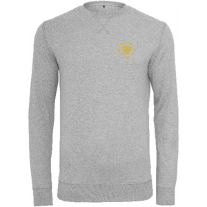 "Men - Apparel - Sweaters - Crew Neck Heather Grey / 2XL 48"" The Lion Head Light crew sweatshirt fashion clothing accessories shoes jewelry"