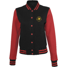 Women - Apparel - Outerwear - Jackets Black/Red / L 14 The Lion Head Women's sweat college jacket fashion clothing accessories shoes jewelry