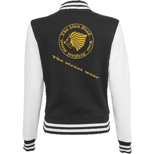 Women - Apparel - Outerwear - Jackets The Lion Head Women's sweat college jacket fashion clothing accessories shoes jewelry