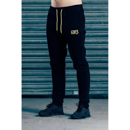 Men - Apparel - Activewear - Leggings CozyFit Joggers - Black & Yellow Fashion Madness
