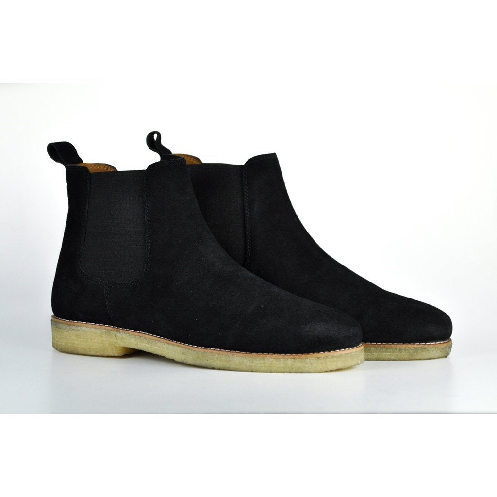 Men - Shoes - Boots 8 The Maddox 2 | Black Suede Fashion Madness
