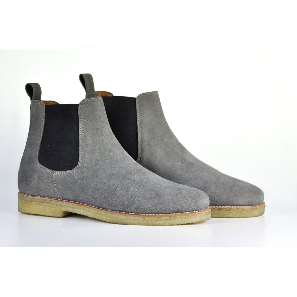 Men - Shoes - Boots 8 The Maddox 2 | Grey Suede Fashion Madness