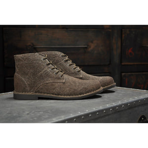 Men - Shoes - Boots The Grover-Vegan | Sage Brown Fashion Madness