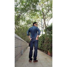 Men - Apparel - Denim - Jeans Selvage Dark Blue Jeans Fashion Madness