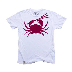 Men - Apparel - Shirts - T-Shirts Crab & Trident: Organic Fine Jersey Short Sleeve T-Shirt Fashion Madness