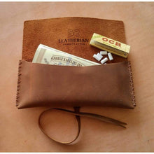 Men - Accessories - Wallets & Small Goods Leather Pouch | TOBACCO & PIPE Fashion Madness