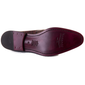 Men - Shoes - Loafers & Drivers Giovanni - Penny Loafer Shoe In Embossed Burgundy Calf Leather Fashion Madness