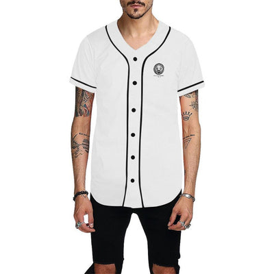 Men - Apparel - Shirts - Dress Shirts White Baseball Mens Shirt fashion clothing accessories shoes jewelry