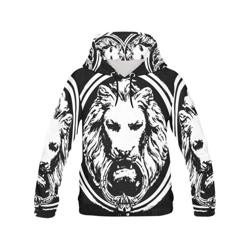 Men - Apparel - Sweaters - Pull Over Mens Lion All Over Hoodie fashion clothing accessories shoes jewelry