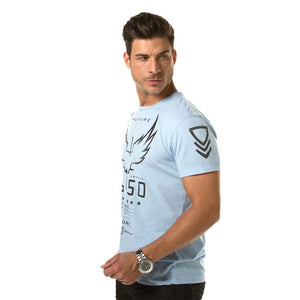 Men - Apparel - Shirts - T-Shirts Victory GT Blue fashion clothing accessories shoes jewelry