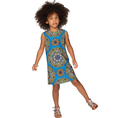 Kids - Girls - Apparel Boho Chic Adele Shift Floral Mother and Daughter Dress Fashion Madness