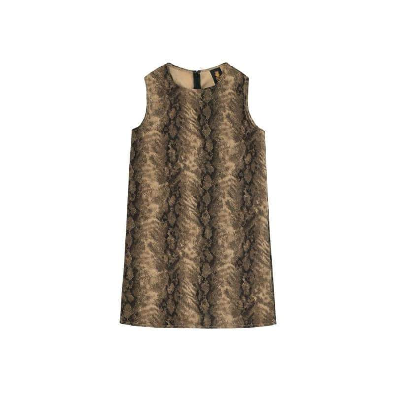4a805690df8 ... Kids - Girls - Apparel Sage Green Animal Print Sleeveless Mommy and Me  Dresses Plus Size ...