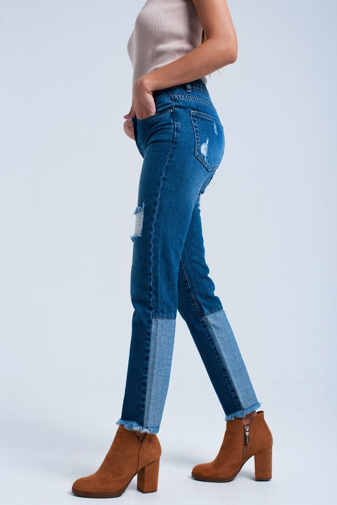 Women - Apparel - Denim - Jeans Worn straight jeans fashion clothing accessories shoes jewelry