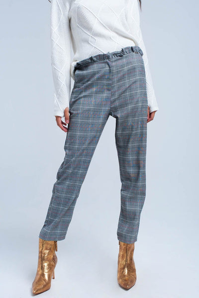 Women - Apparel - Pants - Trousers Red tartan pattern pants fashion clothing accessories shoes jewelry