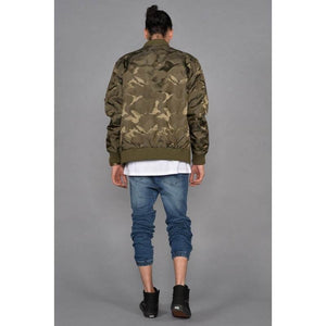 Men - Apparel - Outerwear - Jackets The Tonal Fatigue Bomber Jacket Fashion Madness