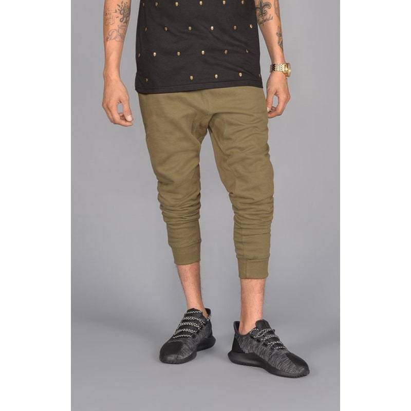 Men - Apparel - Pants - Skinny The Simply Butter Joggers in Olive Fashion Madness