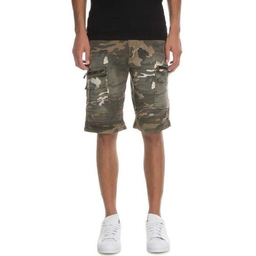 Men - Apparel - Shorts - Casual Distressed Tactical Biker Shorts Fashion Madness