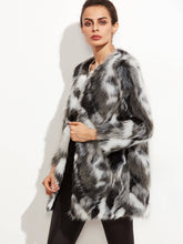 Faux Fur Open Front Fuzzy Coat fashion clothing accessories shoes jewelry
