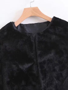 Faux Fur Short Teddy Coat fashion clothing accessories shoes jewelry