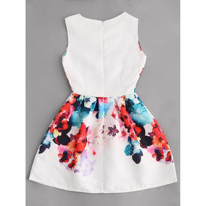 Florals Embossed Fit & Flare Dress fashion clothing accessories shoes jewelry