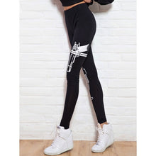 Gun & Striped Print Leggings fashion clothing accessories shoes jewelry