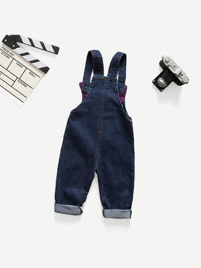 Kids - Boys - Apparel Toddler Boys Cartoon Pattern Embroidered Overalls fashion clothing accessories shoes jewelry