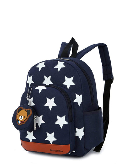 Kids - Boys - Bags Kids Star Print Nylon Backpack fashion clothing accessories shoes jewelry