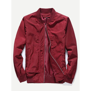 Men - Apparel - Outerwear - Jackets Men Plain Jacket fashion clothing accessories shoes jewelry