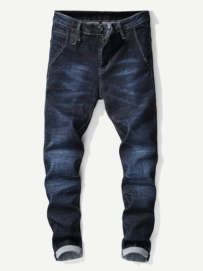 Men Solid Jeans