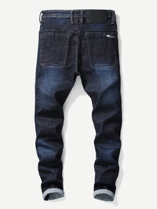 Men - Apparel - Pants - Chino Men Solid Jeans fashion clothing accessories shoes jewelry