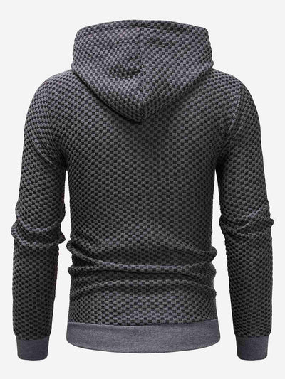 Men - Apparel - Sweaters - Crew Neck Men Kangaroo Pocket Drawstring Hoodie fashion clothing accessories shoes jewelry
