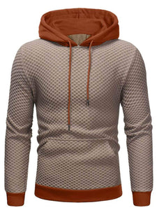 Men - Apparel - Sweaters - Crew Neck Men Kangaroo Pocket Hooded Sweatshirt fashion clothing accessories shoes jewelry