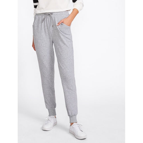 Women - Apparel - Pants - Trousers Marled Track Pants fashion clothing accessories shoes jewelry