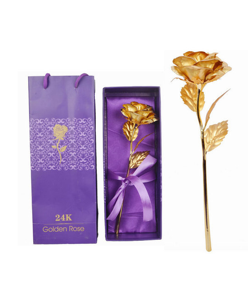 golden rose 24k france cadeau