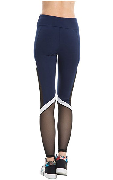 legging yoga bleu