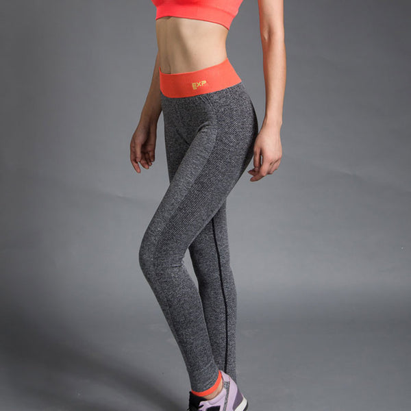 legging yoga bandeau orange