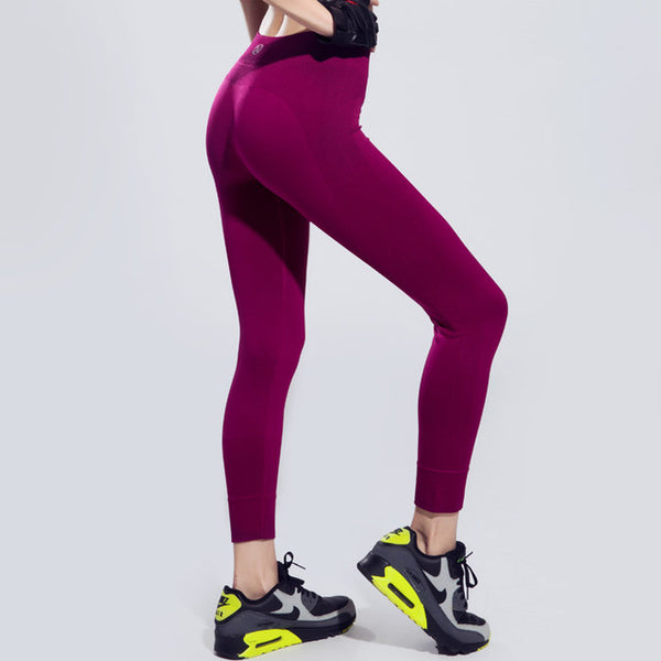 legging rose moulant respirant