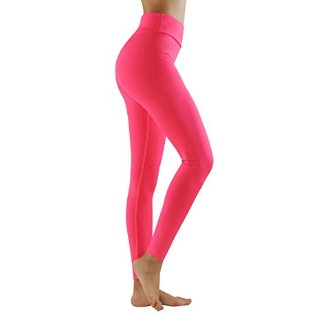 legging rose yoga raffermi