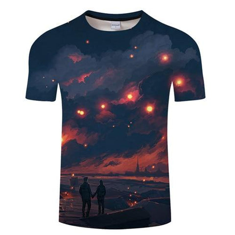 Night Clouds - Shirt