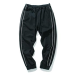 Gemini Track Pants - Black/White
