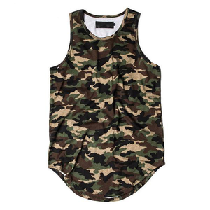 Camo Tank Top - Army Green