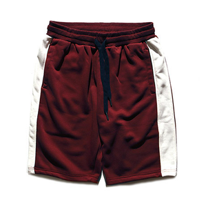 Lone Stripe Shorts - Red