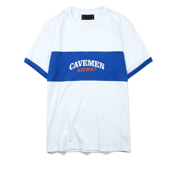 Cavemen Tee - White