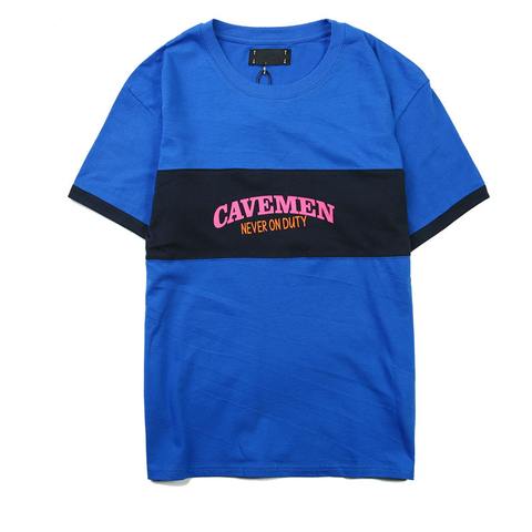 Cavemen Tee - Blue
