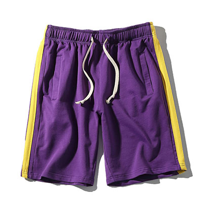 Track Shorts - Purple